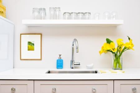 Designer-Decorated Bachelor Suite