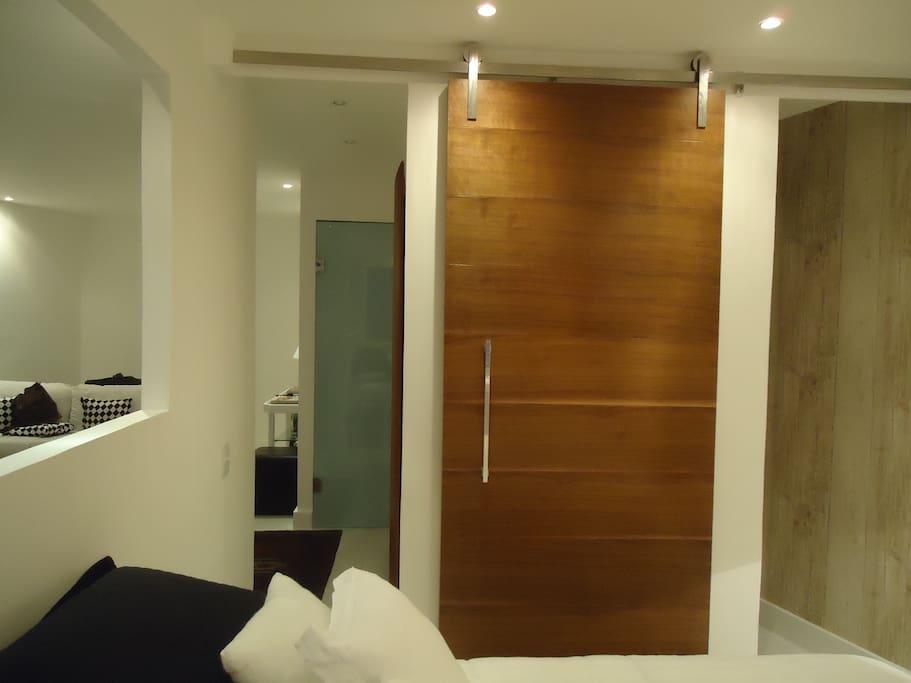Quarto e closet