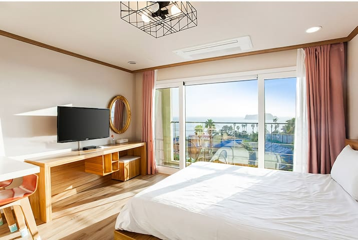 Dombe Resort Deluxe Room double (ocean view)