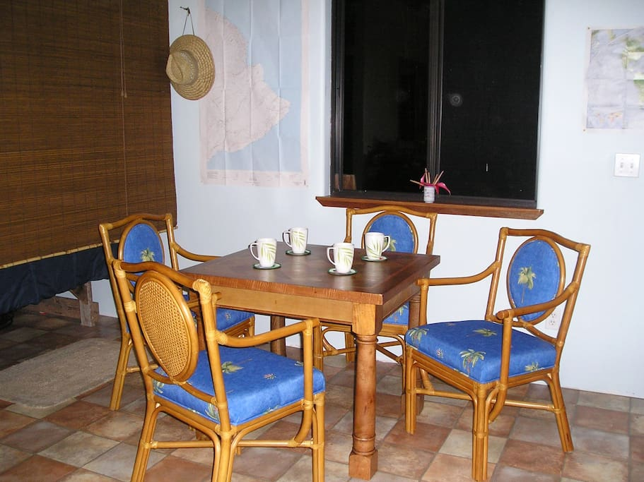 The dining set