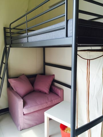 四通八逹的陽光好屋(1) - Zhonghe District - Appartement