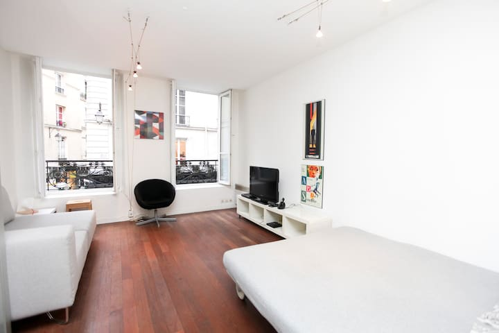 Paris Center Marais Large Studio