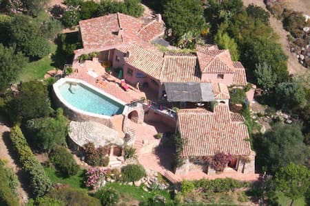 Villa vue mer sur baie de pinarellu - Ste Lucie de Porto-Vecchio