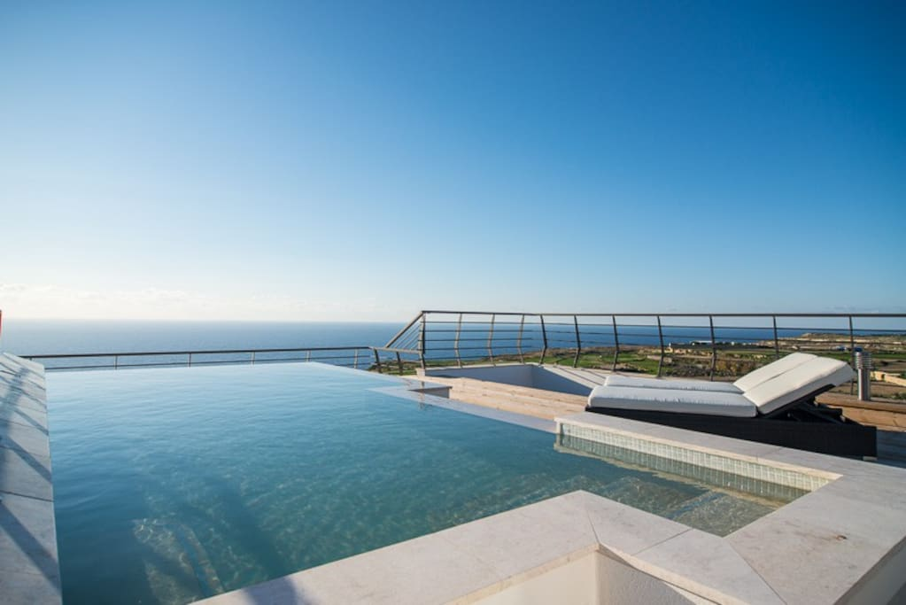 Amazing pool, private to the accommodation, not shared with anyone and not overlooked.