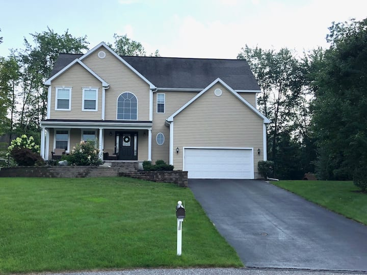 Family Home Track Rental Close to SPAC with Pool