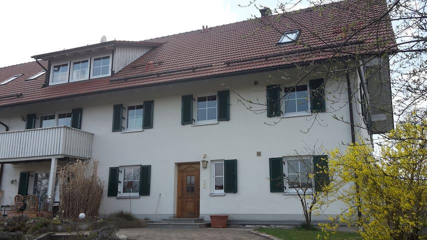Gemütliche Ferienwohnung - Tussenhausen - Apartment