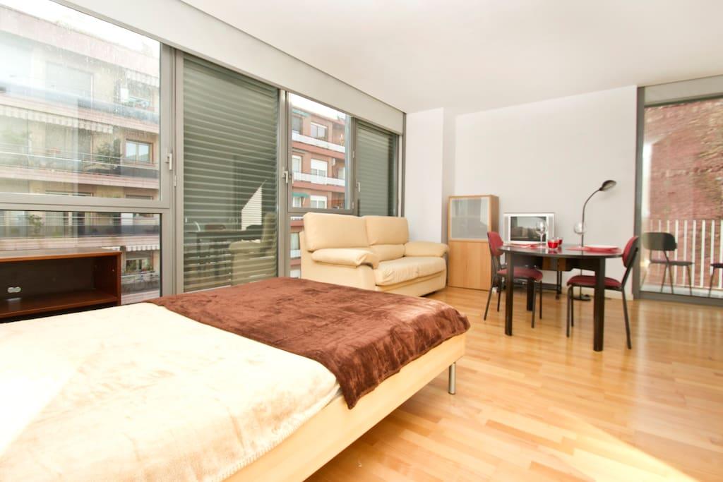 Stylish loft in the heart of bcn appartamenti in affitto for Appartamenti barcellona affitto economici