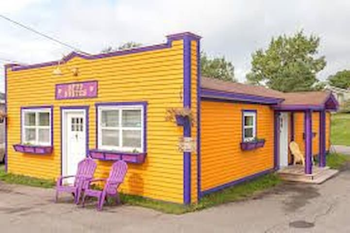 Spud Suites in Downtown Deer Lake on Groomed Trail