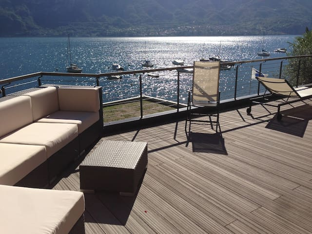 Beach house near Bellagio - Limonta - Semesterboende