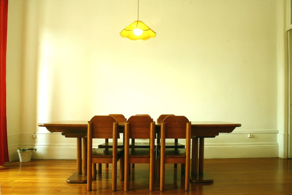 Dinning table in the living-room