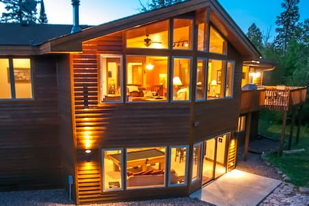 GRAND RETREAT: Roomy Timber Frame Home, FREE Wi-Fi - Lutsen - Hus