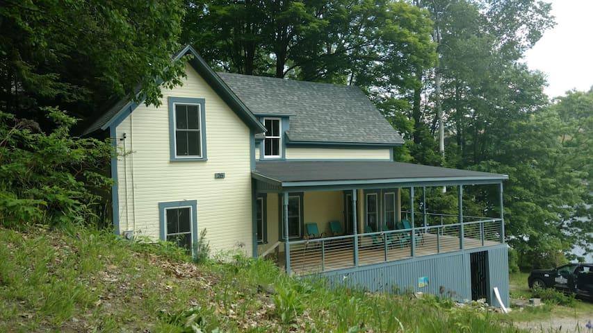 Large Rustic 1800's Lake Home