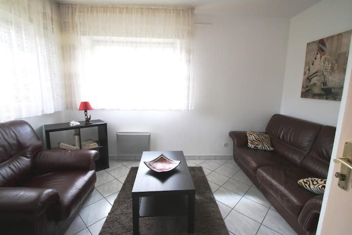 Appartement 2 pièces tout confort au calme