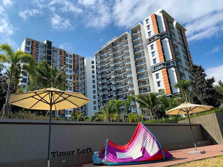 Timur Loft @TimurBay Seafront Residence