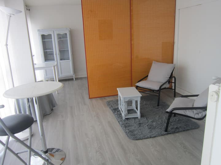 Agréable appartement confortable et lumineux
