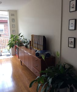 Sunny flat in hip area-Marrickville - 马利克维尔 - 公寓