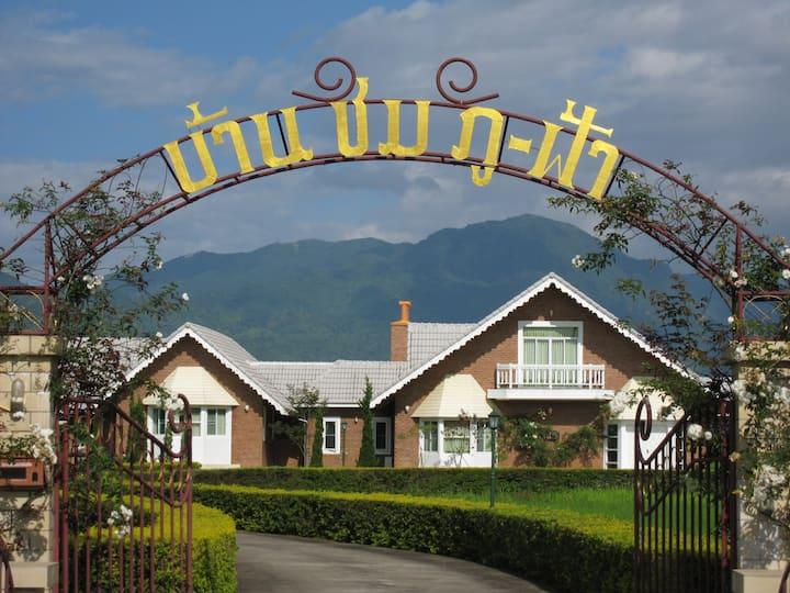 Baan Chompufa บ้านชมภูฟ้า