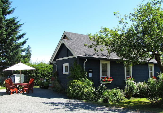 blueberry cottage - private house and gardens! - Courtenay - Casa