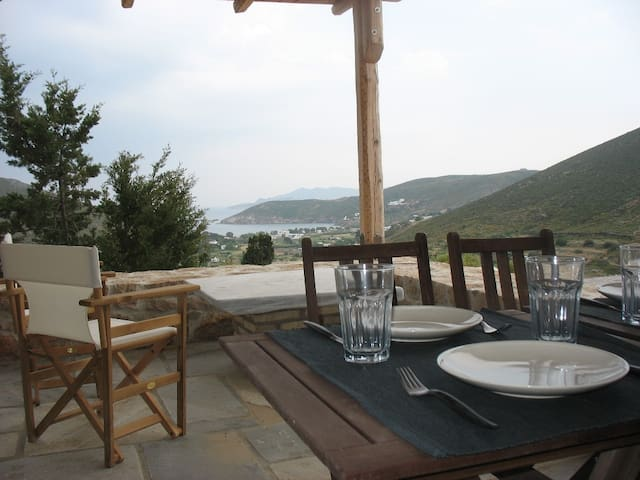 Peaceful Studio w/Breathtaking View - Patmos - Apartment