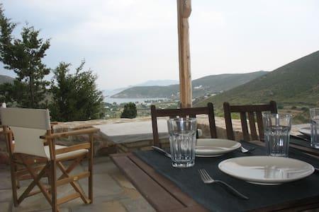 Peaceful Studio w/Breathtaking View - Patmos - Διαμέρισμα