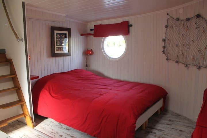 Chambre d hôte à bord d une péniche - Valenciennes - Bed & Breakfast