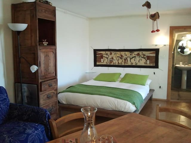 Comfortable bed-sit in the wood - San Pietro Val Lemina - Szoba reggelivel