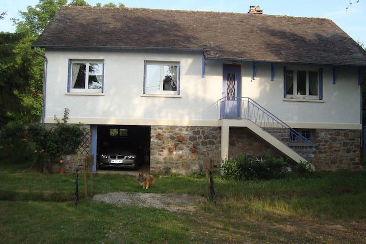 maisons campagne a une heure de pa - Saint-Lubin-de-la-Haye - บ้าน