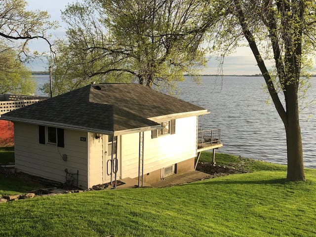 Boat House on the Lake