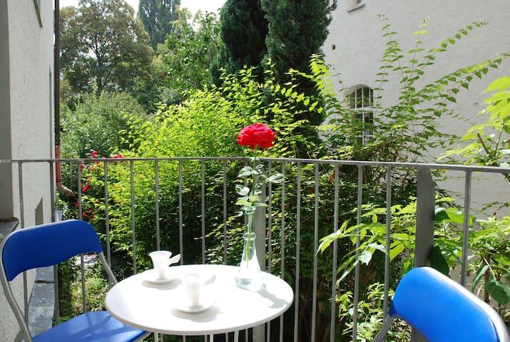 Wohnen im Zentrum mit Balkon - Regensburg - Apartment