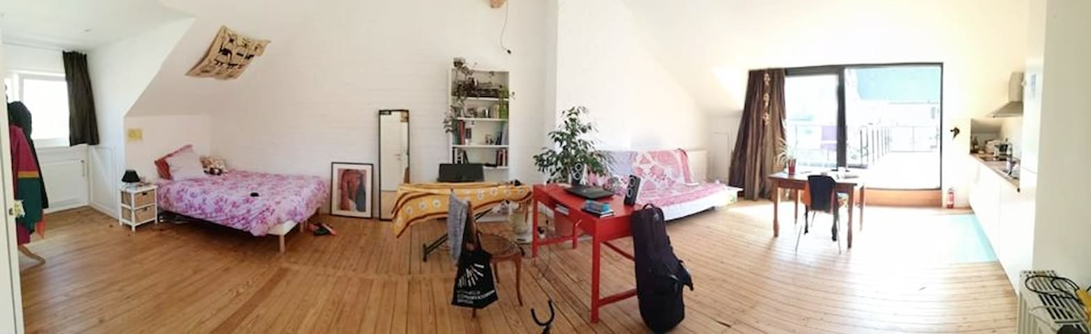 Nice Studio with Terrace well located - quiet area