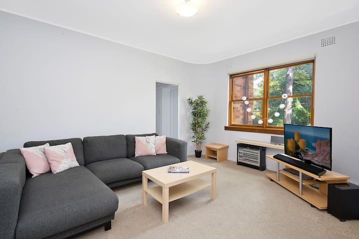 Cosy 2bedroom + Parking - Nth Sydney