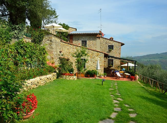 Delicious country-house in Chianti - San Casciano w Val di Pesa - Apartament