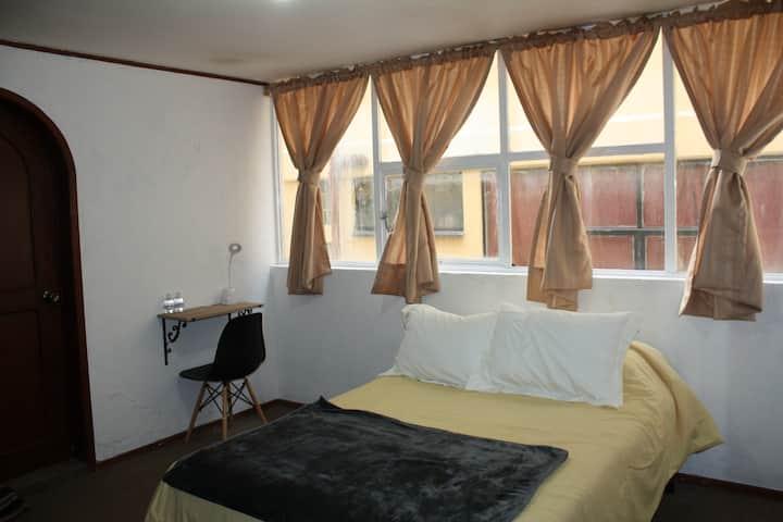 Habitación 3 Matrimonial Plaza Juárez Centro