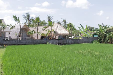 Thatched Rice Paddy Huts overlooking the Sea #1 - Mengwi - Cabaña