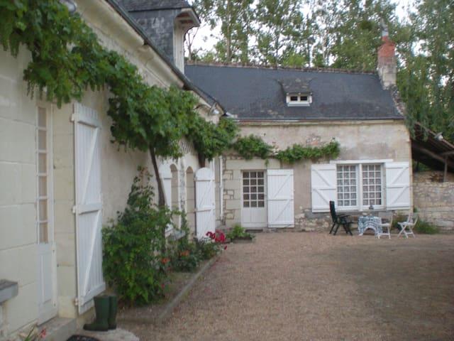Le Moulin Bertrand vous accueille - Benais - Bed & Breakfast