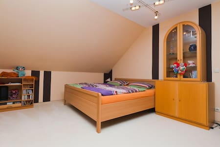 Big room with priv.bath and balcony - Wedemark