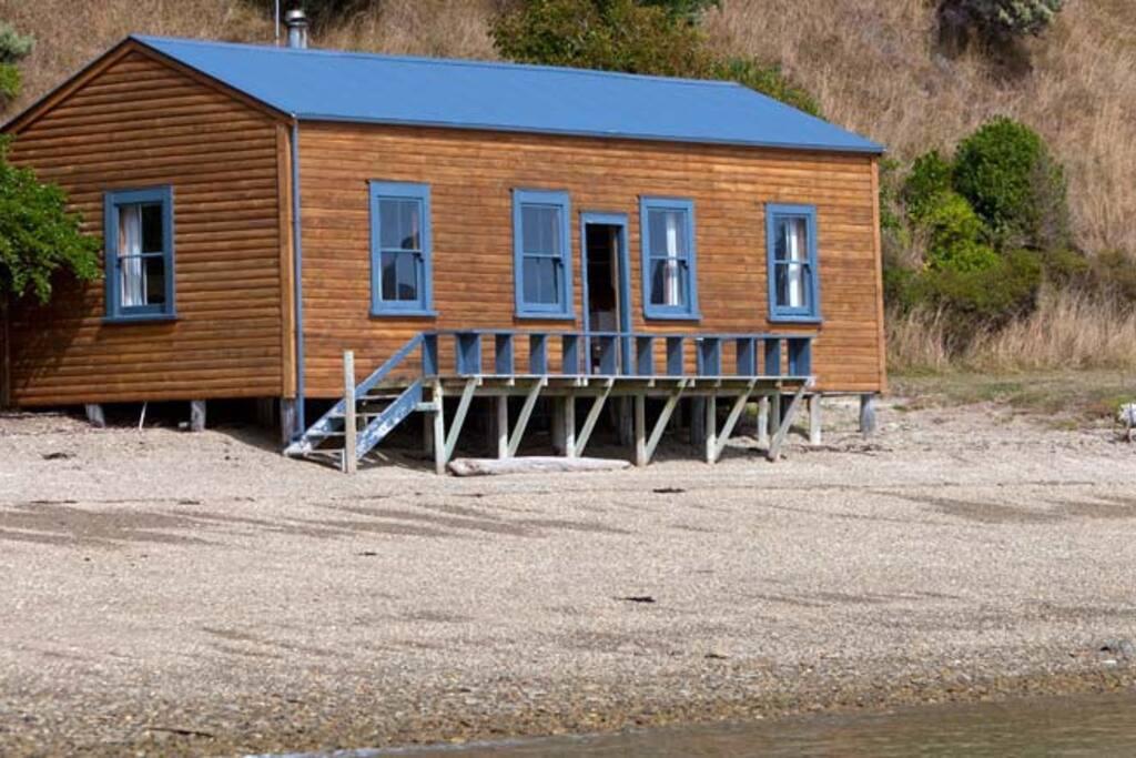 Shorebeach Cottage auf Forsyth Island