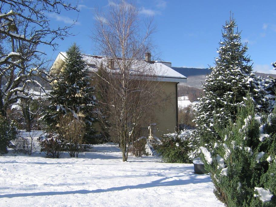 La Villa est au coeur d'un espace vert exceptionnel !!!