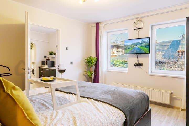 QUIET STAY   1 Bedroom Flat in Villa with Garden