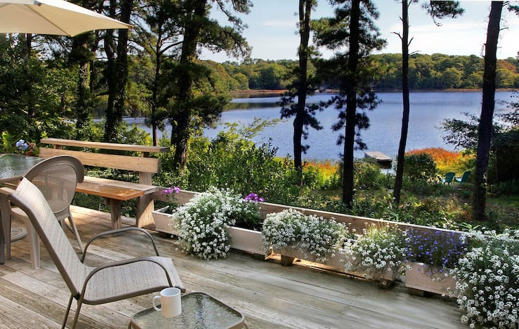 Private Lakefront Retreat - Orleans - Huis