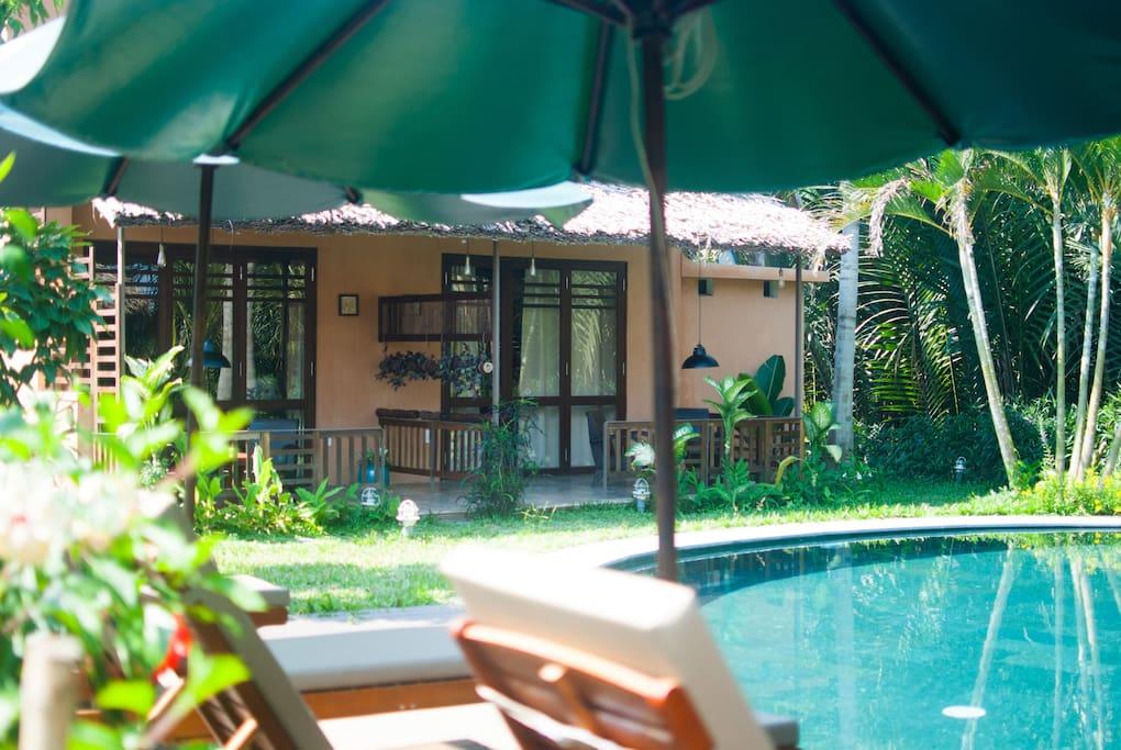 An Villa's pool terrace