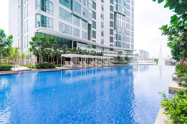 1BR Luxe Suites | Walk to Bukit Bintang Street