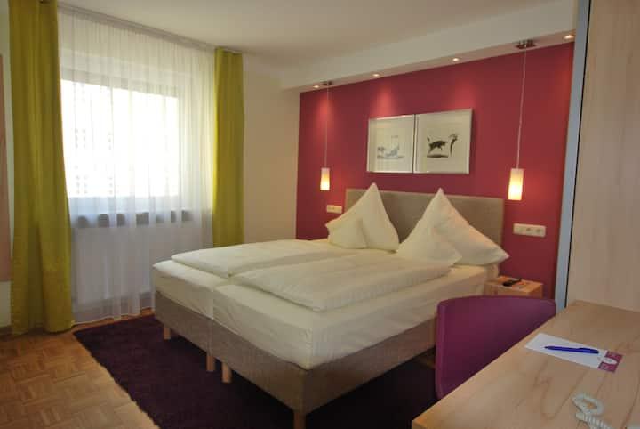 Kleine Doppelzimmer in Landshut