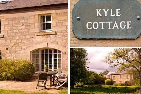 Farm holiday cottage near Edinburgh