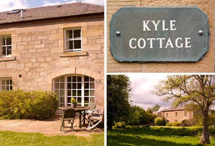 Farm holiday cottage near Edinburgh