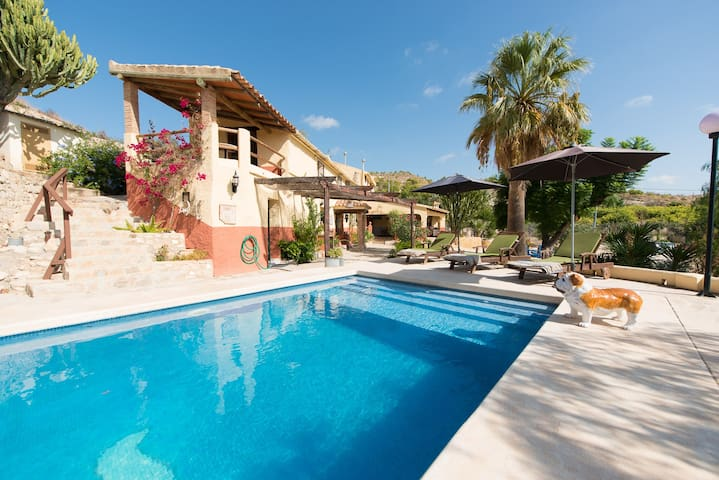 Stunning Home set in 2.000 m2 Private Parkland - Villajoyosa - Villa