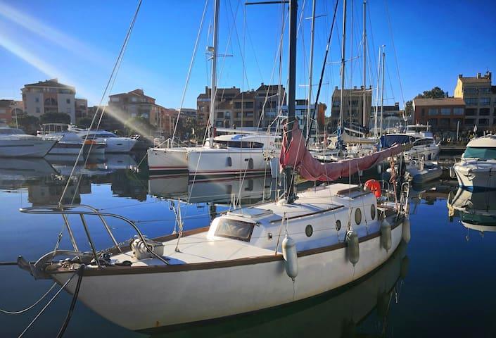 Seuls à bord, voilier à Porto vecchio