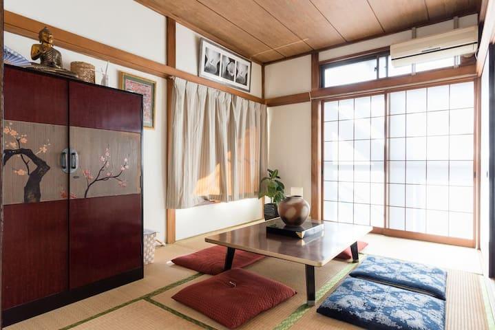 Room 203 Zen house near Bujinkan Honbu Dojo