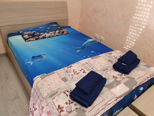 Vi offriamo una camera comoda ,nuova e pulita