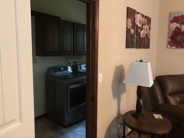 Laundry off of Family Room